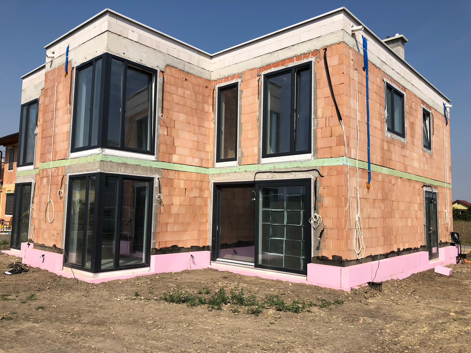 Fassade in Bruck/Leitha
