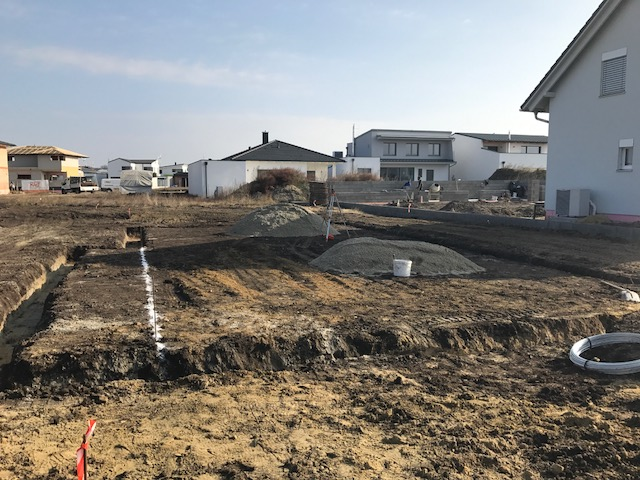 Fundamentplatte in Weiden am See